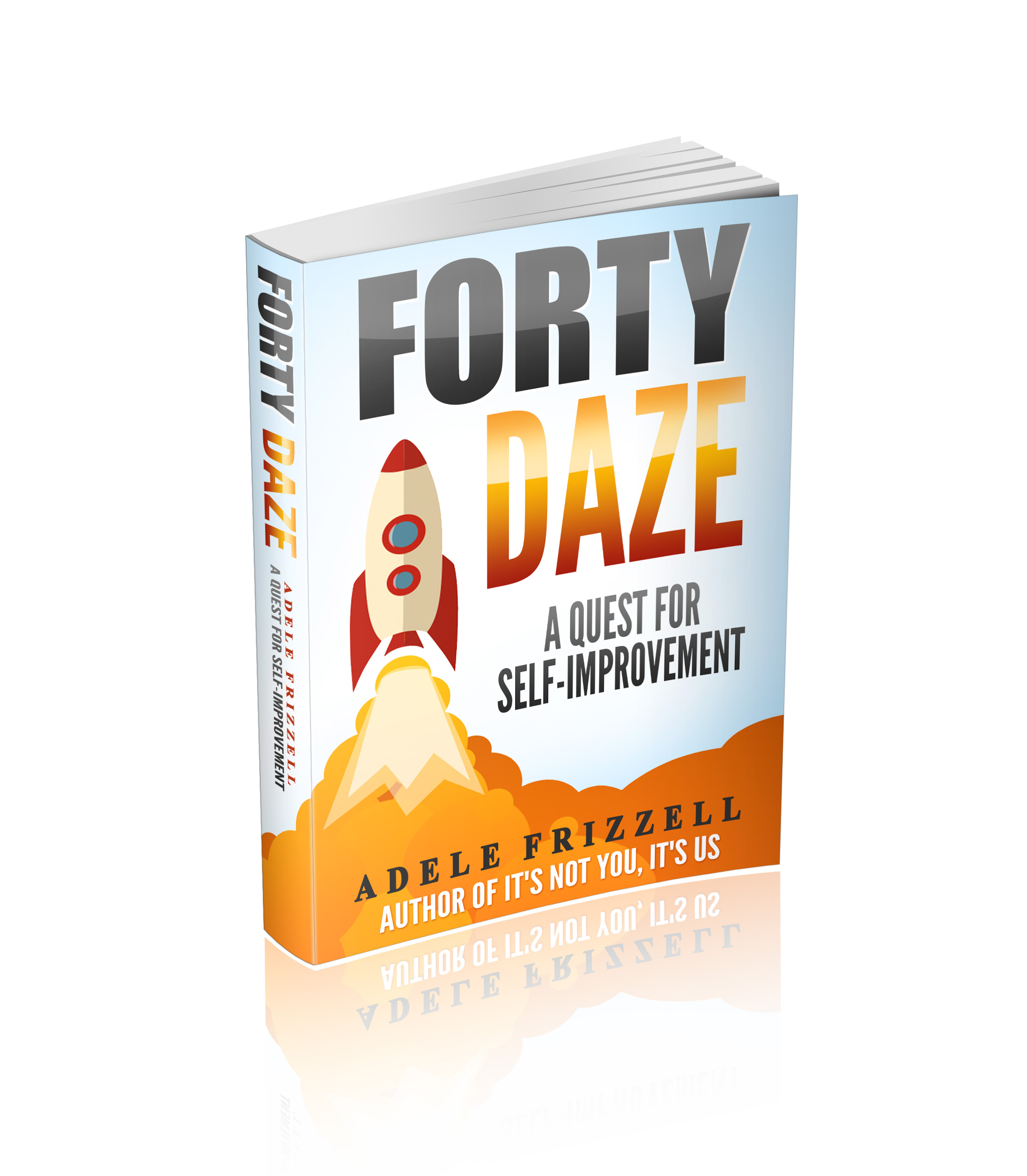 Forty Daze 3D Book Cover